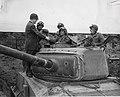 Earl Warren meeting California National Guard tank crew 1951.jpg