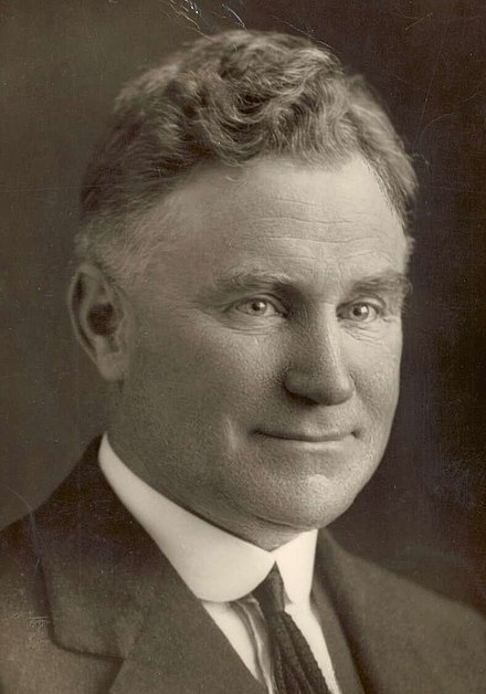 Earle Page, founder of the New State movement and later Prime Minister of Australia EarlePage.jpg