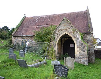 East-the-Water Cemetery, Bideford - Image: East the Water Cemetery Chapel