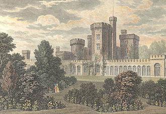 East Cowes Castle - East Cowes Castle, 1824