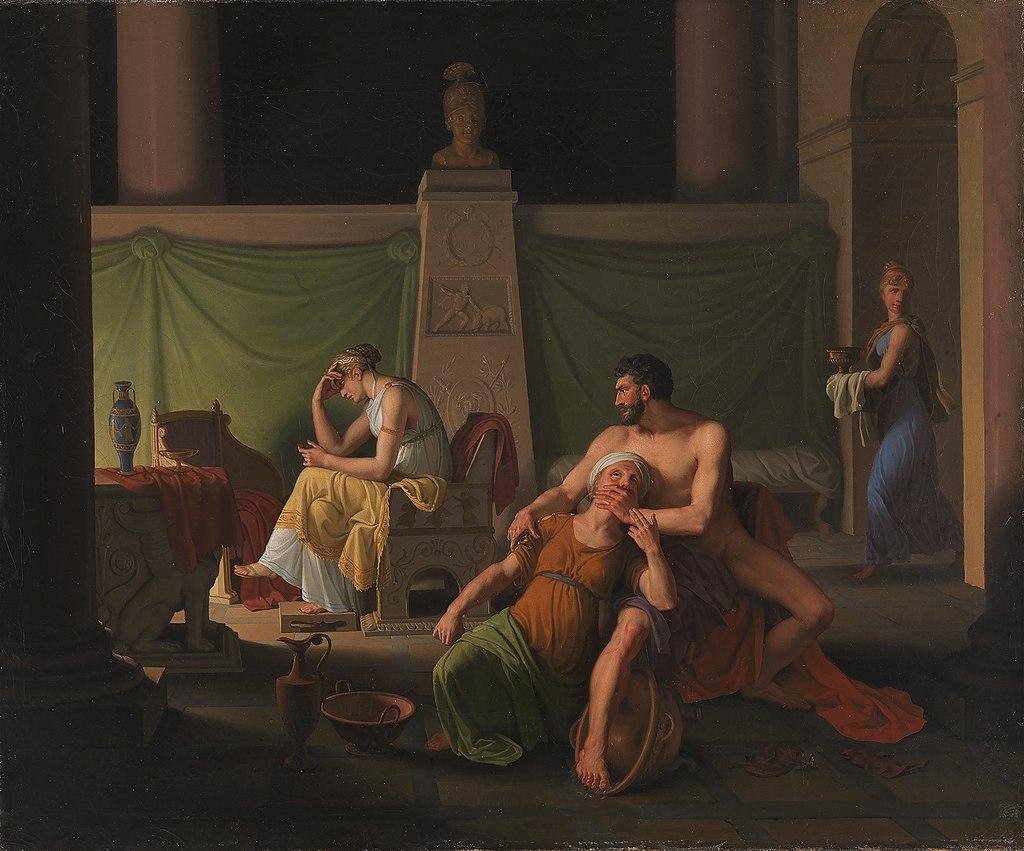 Eckersberg, CW - Odysseus' hjemkomst - 1812.jpeg