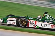 Irvine at the 2002 United States Grand Prix.