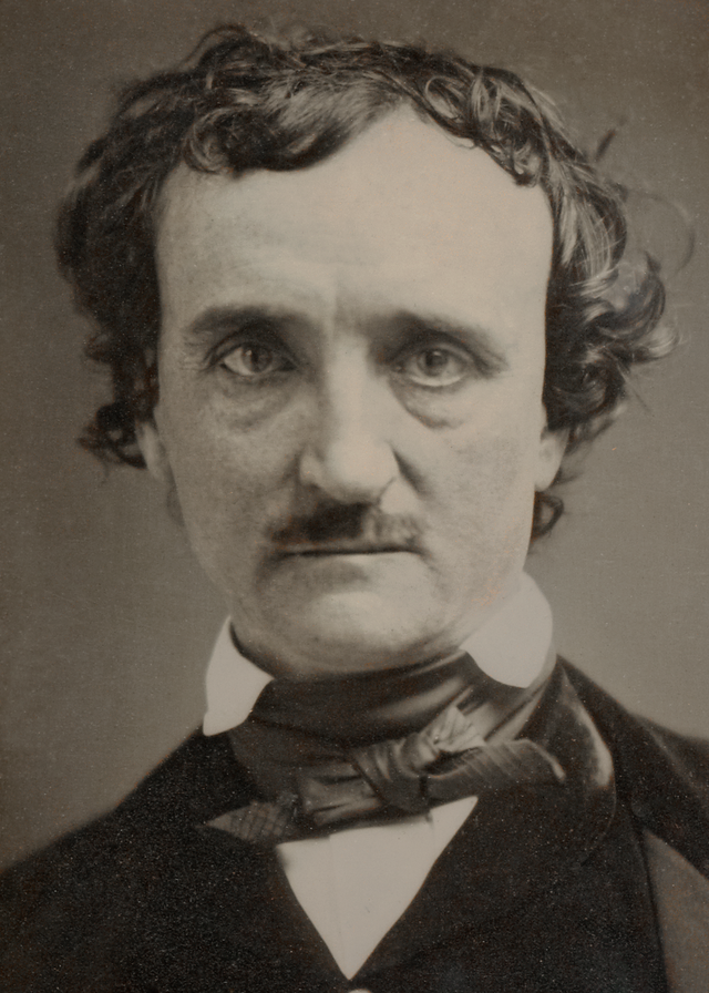 "1849 ""Annie"" daguerreotype of Poe (source: Wikipedia)"