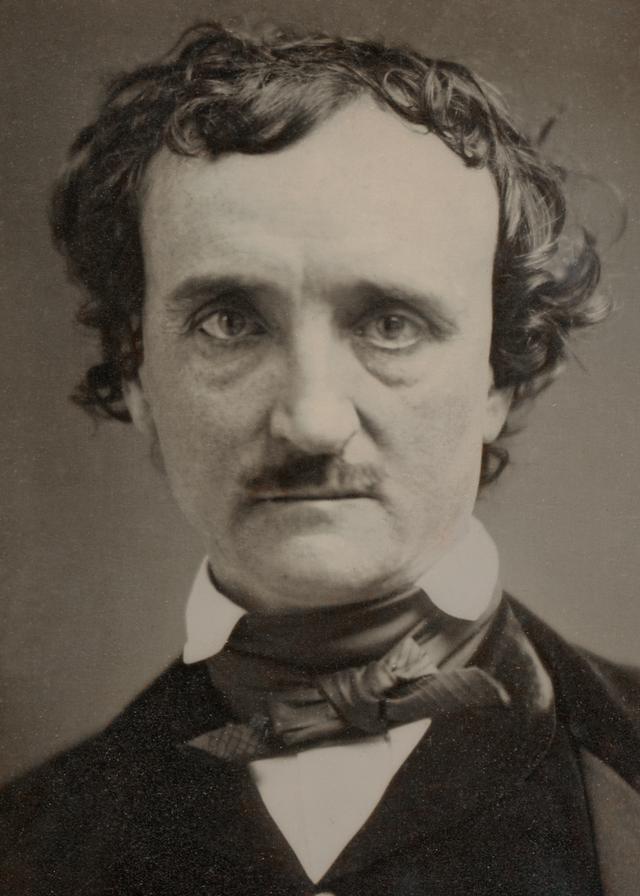 "1849 ""Annie"" daguerreotype of Poe (source: Wikipedia)"