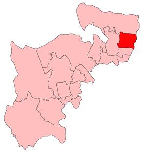Edmonton (UK Parliament constituency) - Edmonton in Middlesex 1918–50