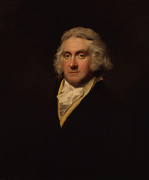 Edmund Lodge - Portrait of Edmund Lodge by Lemuel Francis Abbott, circa 1790–95