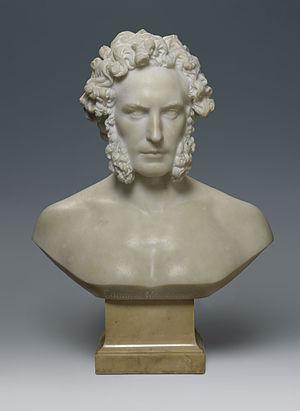 Edmund Montgomery - Edmund Montgomery 1864 bust by Elisabet Ney