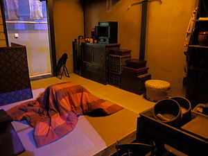 Kotatsu - Edo period kotatsu at the Fukagawa Edo Museum