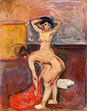 Edvard Munch - Bending and Upright Nude.jpg