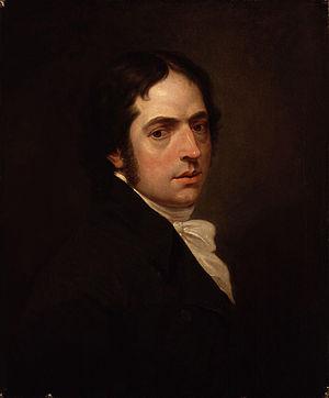Edward Dayes - Edward Dayes, self-portrait from 1801.