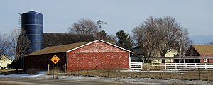 National Register of Historic Places listings in Isanti County, Minnesota - Image: Edward Erickson Farm 1