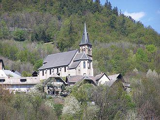 Allemond - Image: Eglise allemond