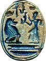 Egyptian - Scarab of Ramesses II - Walters 4231 - Bottom (2).jpg