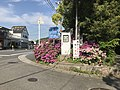 Ehime Prefectural Road No.21 near Oyamazumi Shrine.jpg