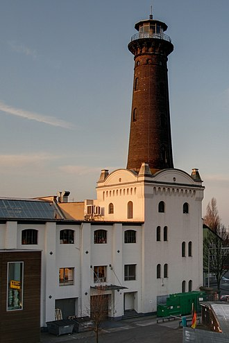 Ehrenfeld, Cologne - Helios-Lighthouse in Cologne-Ehrenfeld