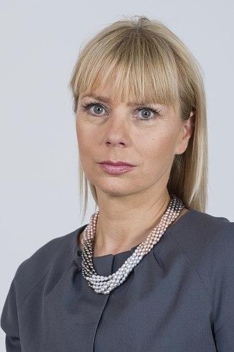 European Commissioner for Internal Market and Services - Image: Elżbieta Bieńkowska Kancelaria Senatu