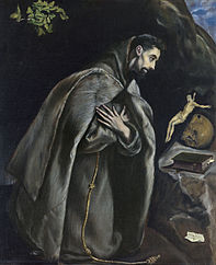 St. Francis in Prayer before the Crucifix
