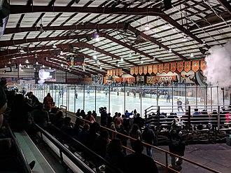El Paso County Coliseum - El Paso County Events Center hosting an El Paso Rhinos game on March 8 2019.