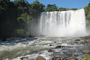 San Andrés Tuxtla - View of the Eyipantla Falls
