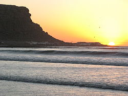 Sonnenuntergang in Elands Bay