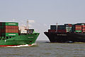 Elbe estuary, Nordic Philip meets Zim Rotterdam 22.08.2011 13-31-21a.jpg