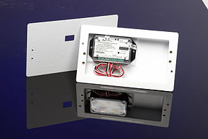 Utility submeter - A typical residential digital electric submeter