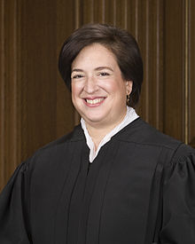 Portrait officiel d'Elena Kagan.