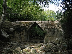 Eleutherna - The Hellenistic Bridge close to the ancient city