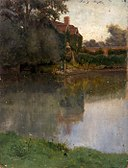 Eliphalet Fraser Andrews - Edge of a Stream - 1916.6.43 - Smithsonian American Art Museum.jpg