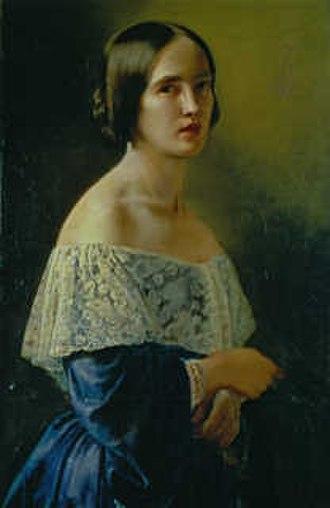 Elisabeth Jerichau-Baumann - Image: Elisabeth Jerichau Baumann, self portrait