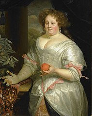 Portrait of Elisabeth Talliarde (1654-1689)