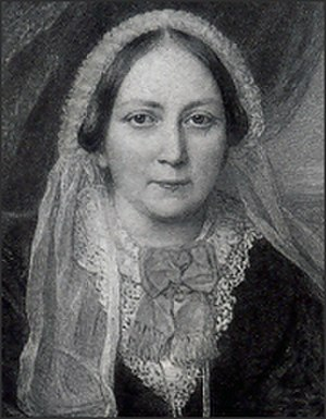 Ellen Wood (author) - Portrait of Ellen Wood by Reginald Easton