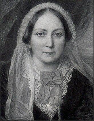 Ellen Wood (author) - Portrait of Ellen Wood by Reginald Easton