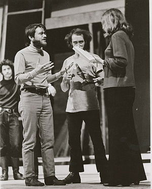 "John Emigh - John Emigh directing ""him"" by E.E.Cummings in 1969."