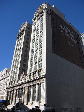 Emigrant Savings Bank - Former Emigrant Industrial Savings Bank on Chambers Street 51