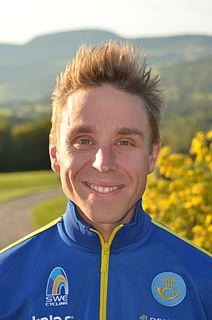 Emil Lindgren Swedish cyclist