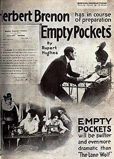 <i>Empty Pockets</i> film directed by Herbert Brenon