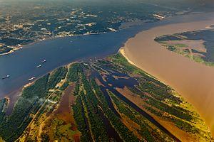 Manausa: Encontro das Águas - Manaus