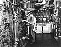 Engineering space aboard USS South Dakota (BB-57), 1944.jpg