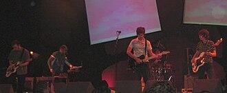 Engineers (band) - Engineers performing at Summer Sundae 2005