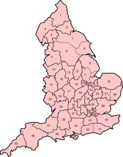 england karta städer Englands grevskap – Wikipedia england karta städer