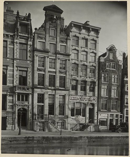 File enkele rijksmonumentale panden aan de herengracht te for Panden te koop amsterdam