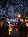 Entrance to Leicester Square at Christmas - geograph.org.uk - 1623693.jpg