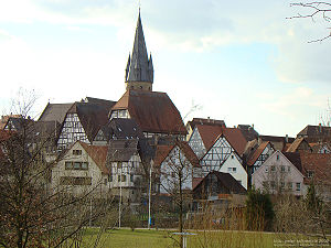 Eppingen - Historic city center
