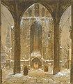 Ernst Ferdinand Oehme - Ein Kloster im Winter.jpg