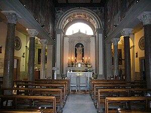Santa Bibiana - Image: Esquilino s Bibiana interno 1190004