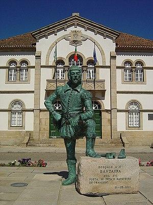 António Gonçalves de Bandarra - Statue of Bandarra in Trancoso, Portugal