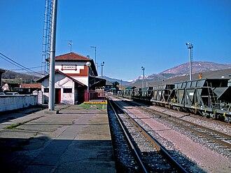 Guardo - Train Station of Ferrocarril de La Robla in Guardo.