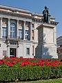 Estatua de Murillo y Puerta de Murillo del Museo del Prado - 01.jpg