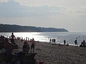 Toila - Image: Estonia Toila plaża